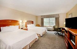 Hampton Inn North Conway - Chambre 2 lits