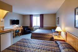 Hôtel le Roberval - Chambre 2 lits