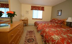 Snowed Inn - Chambre 2 lits