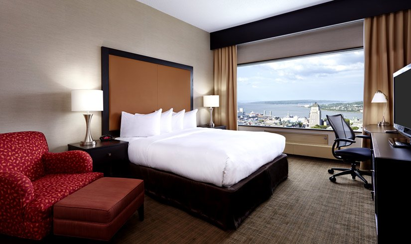 Hôtel Hilton Québec - Chambre exécutive lit King