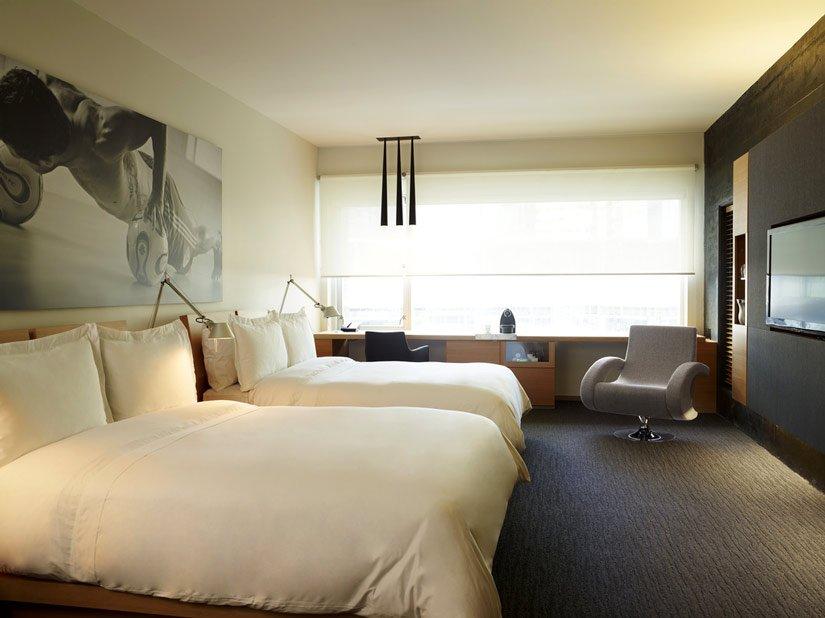 Hôtel le Germain - Chambre 2 lits