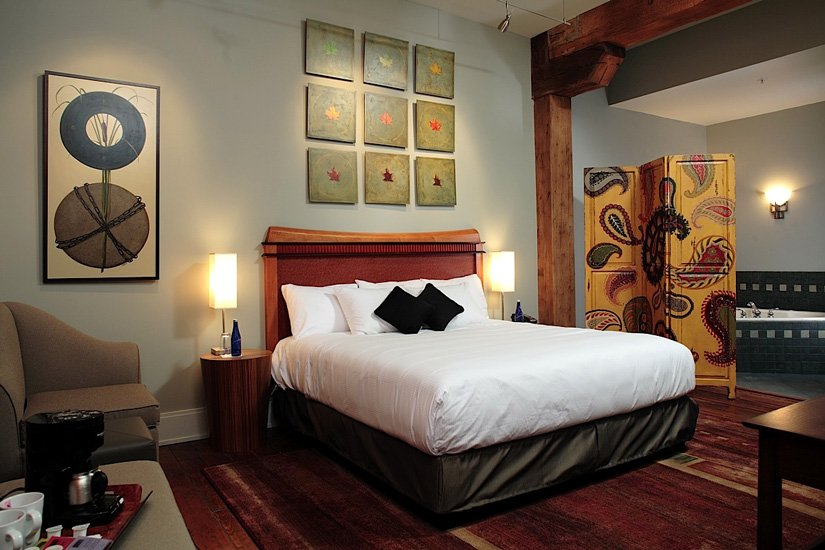 Lancaster Arts Hotel - Chambre avec Spa