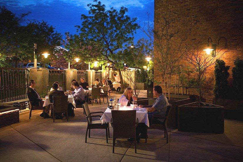 Lancaster Arts Hotel - Terrasse du restaurant