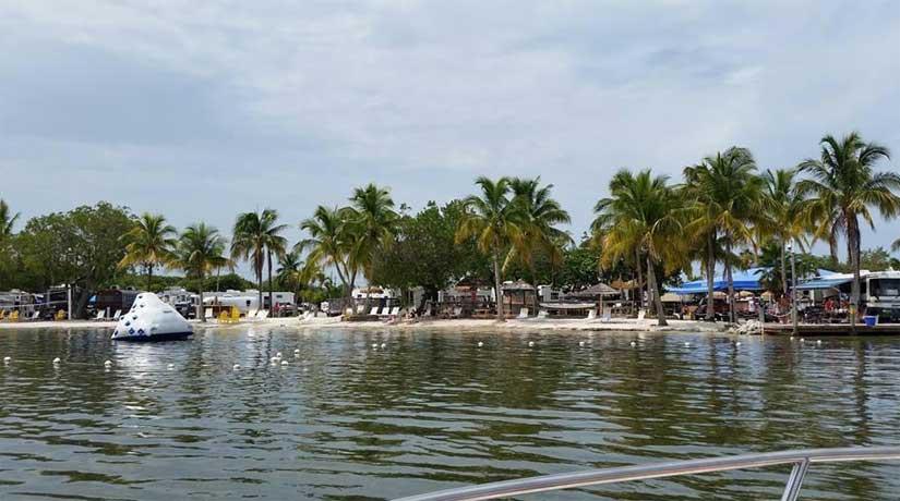 Camping-KOA-Key-West-Plage