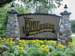 Disney Fort Wilderness Campground