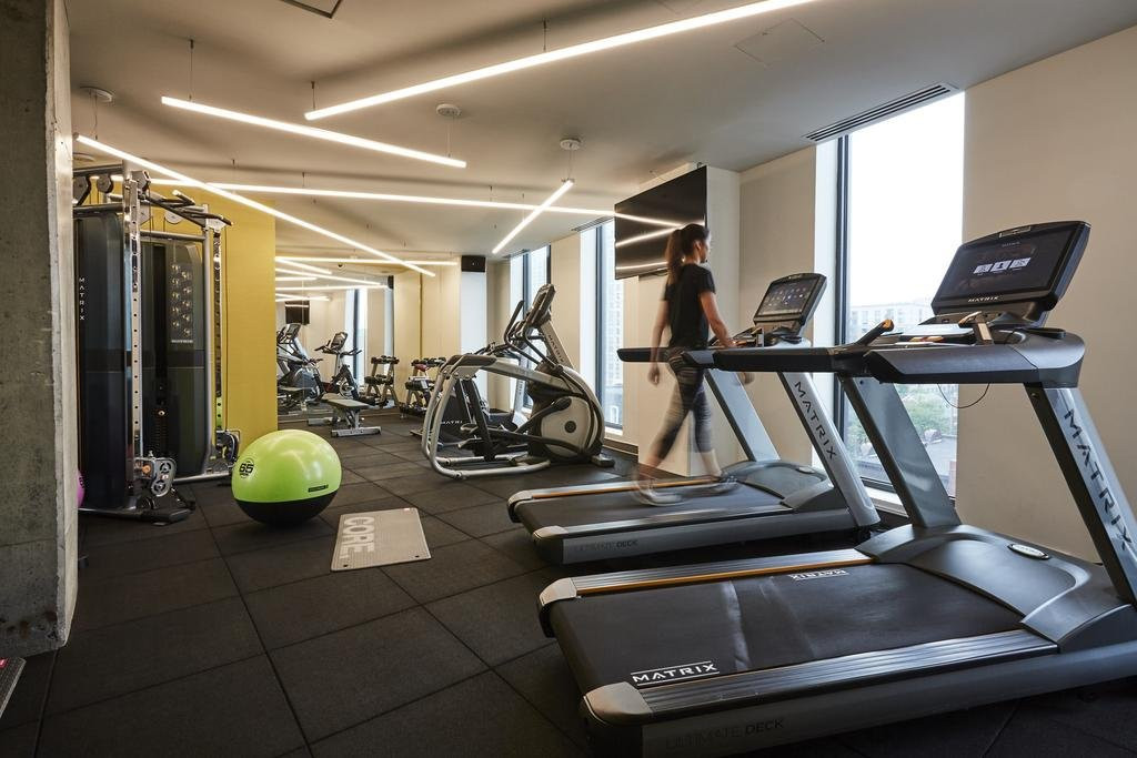 Hilton Garden Inn Miami Airport-Gym