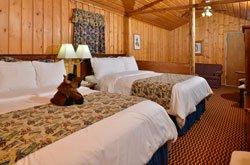 Buffalo Bill Cabin Village - Chambre 2 lits