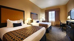 Best Western Grant Creek Inn -Chambre 2 lits Queen