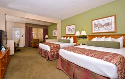 Best Western King's Inn - Chambre 2 lits