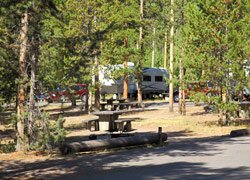 Camping Madison - Yellowstone