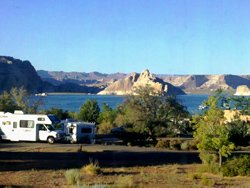 Camping Wahweap, Page, AZ