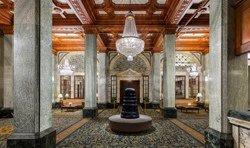 Lobby de l'Hôtel Whicomb