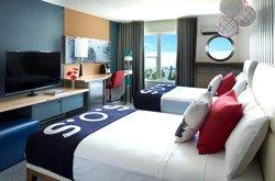 Hôtel Zephyr - Chambre 2 lits double