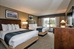Chambre 2 lits - Pine Lodge