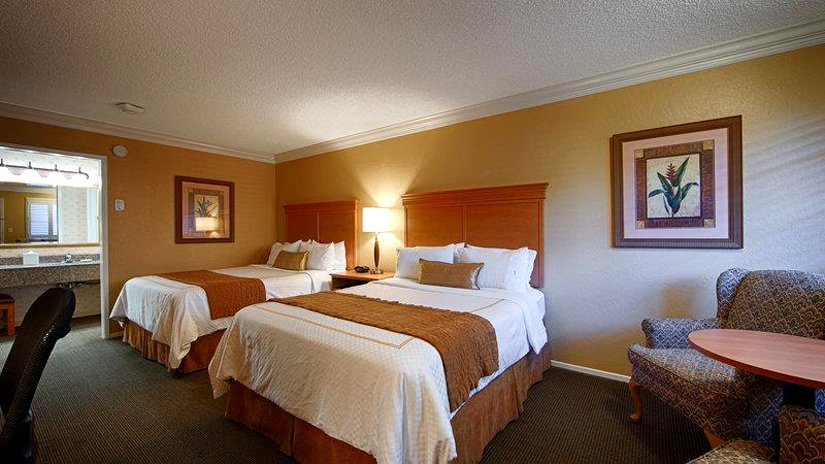 Best Western Plus El Rancho - Chambre 2 lits