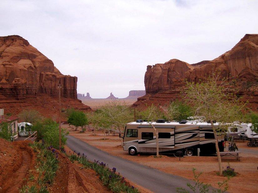 Camping Goulding's Lodge - Camping-car