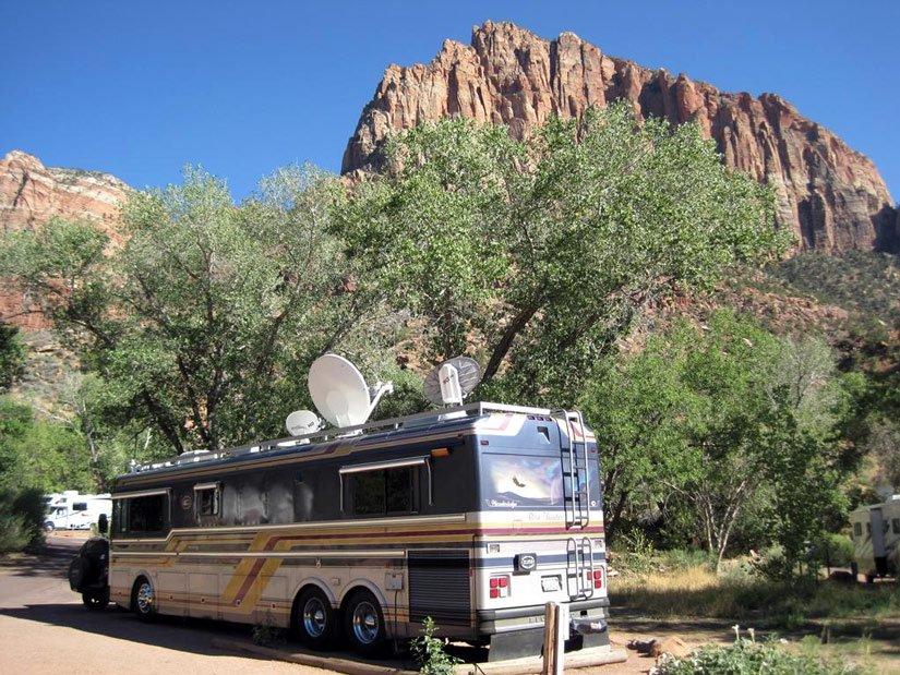 Camping du Parc Zion - Site camping-car