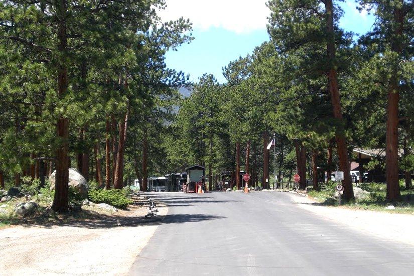 Camping Rocky Mountains - Entrée
