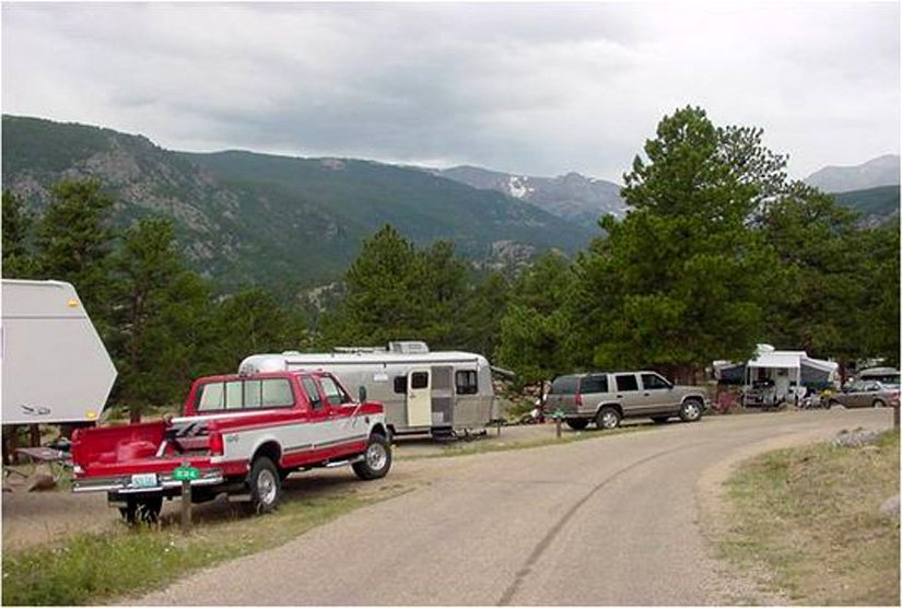 Camping Rocky Mountains - Camping-car