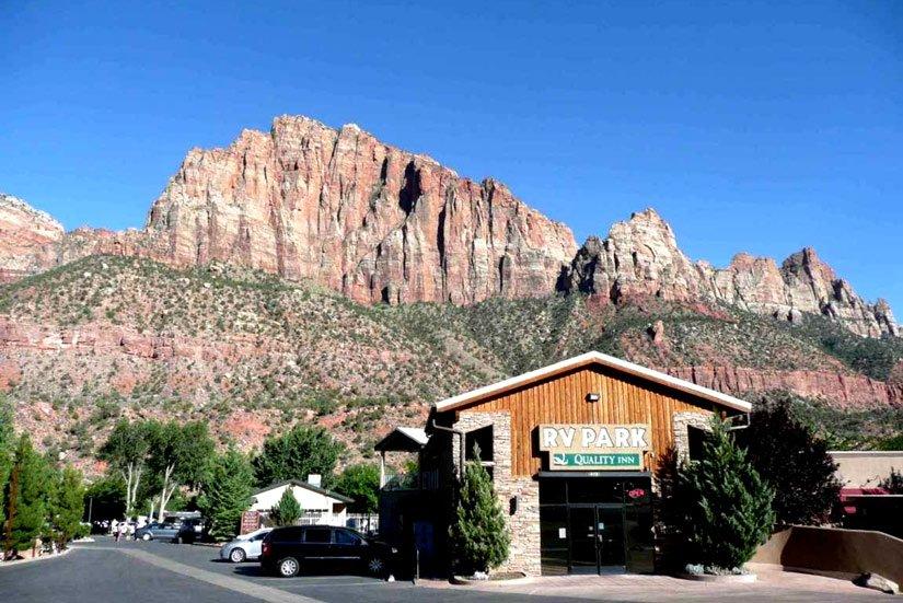 Camping Zion Canyon, Springdale, Utah