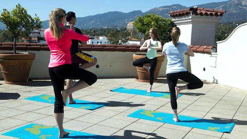 Canary Hotel - Yoga