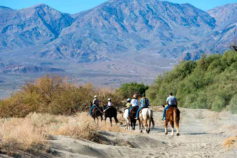 Furnace Creek Ranch - Équitation