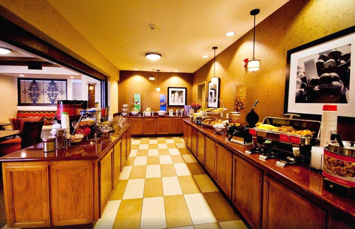 Hampton Inn Fresno - Petit-déjeuner