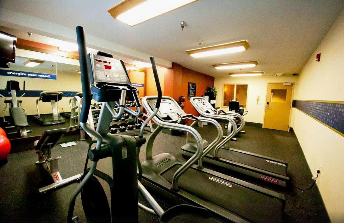 Hampton Inn Fresno - Salle de Gym