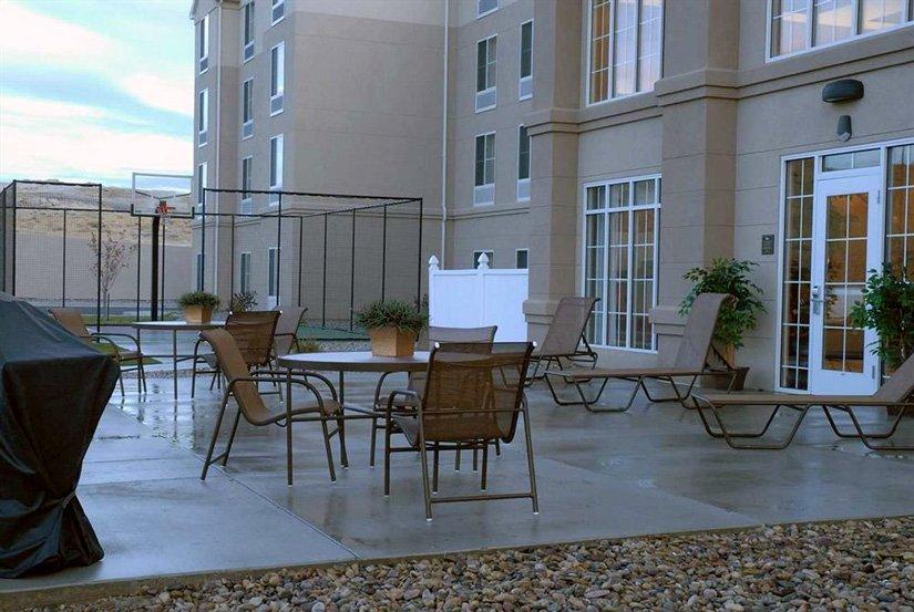 Homewood Suites - Terrasse