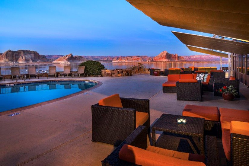 Lake Powell Resort – Piscine