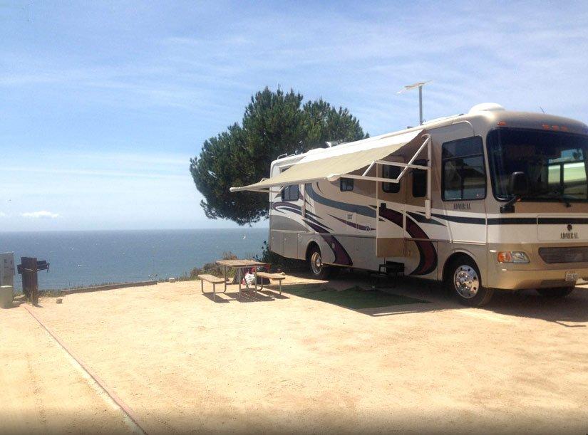 Emplacement au bord de la mer - Malibu RV Park