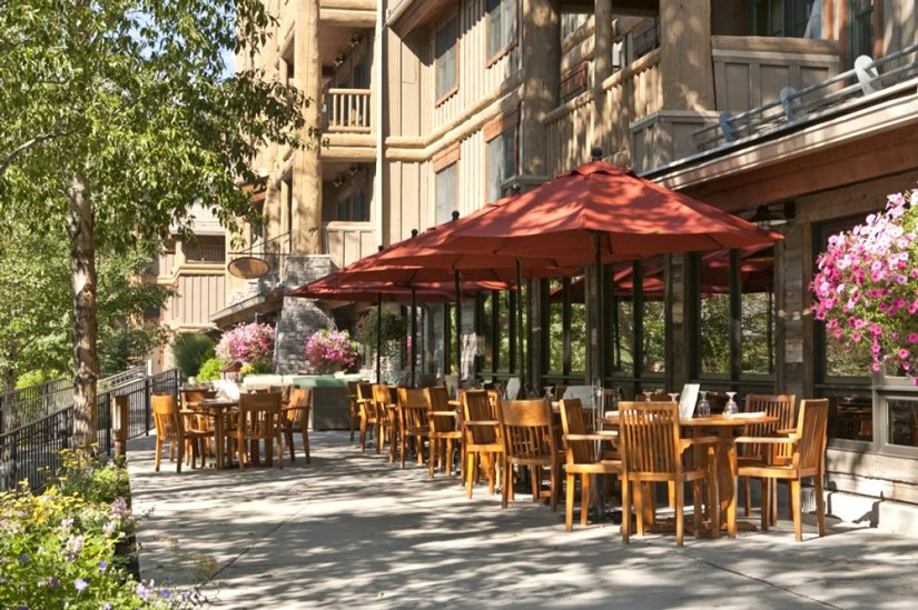 Teton Mountain Lodge - Terrasse du restaurant Spur