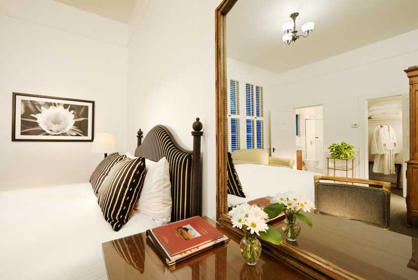 The Upham Hotel - Chambre lit Queen