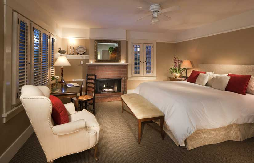 The Upham Hotel - Chambre avec foyer