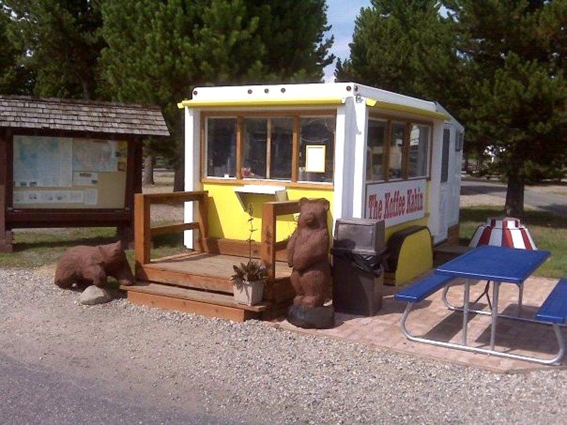 Yellowstone KOA - Coffe kabin