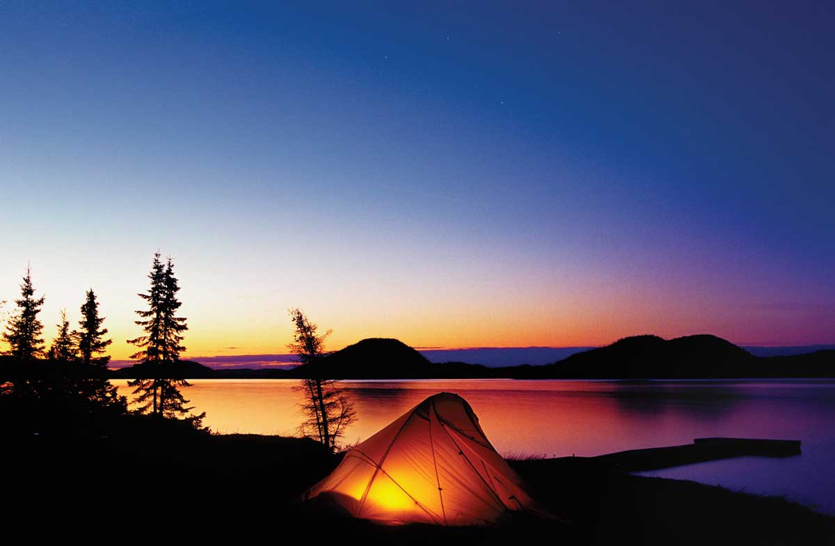 Canot-Camping en Mauricie