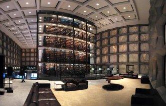 New Haven - Bibliothèque Université Yale