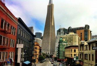 Le centre-ville de San Francisco