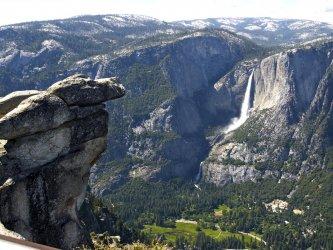 Les chutes Yosemite