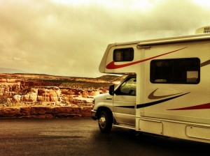 Camping-car au Colorado National Monument