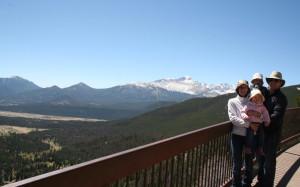 Toute la famille au Rocky Mountain NP
