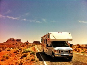Camping car Monument Valley
