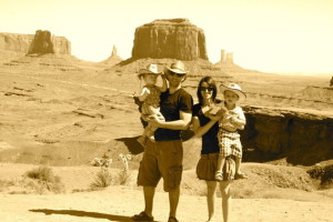 Famille Monument Valley