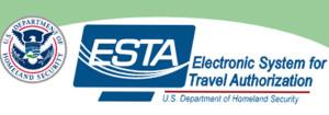 Formulaire d'autorisation ESTA