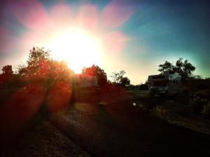 Éclipse solaire Lake Powell