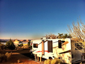 Wahweap campground Lake Powell