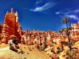 Pause dans Queen's Garden- Bryce Canyon