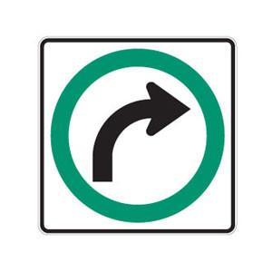 Virage à droite