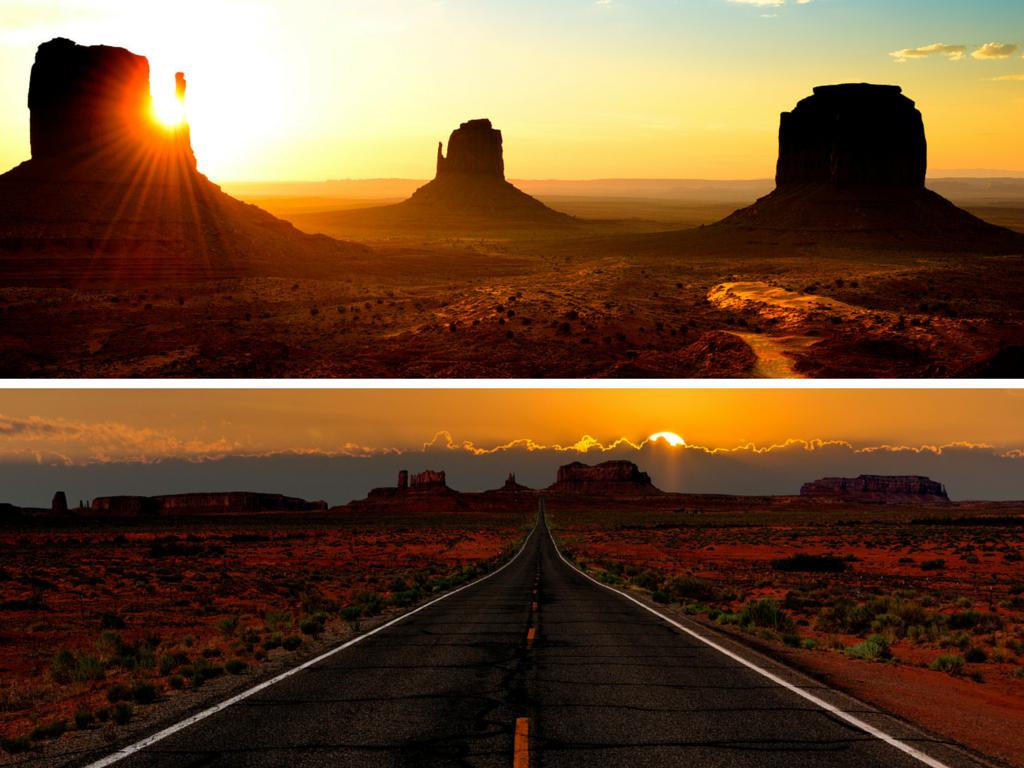Les 5 incontournables de l'Ouest américain
