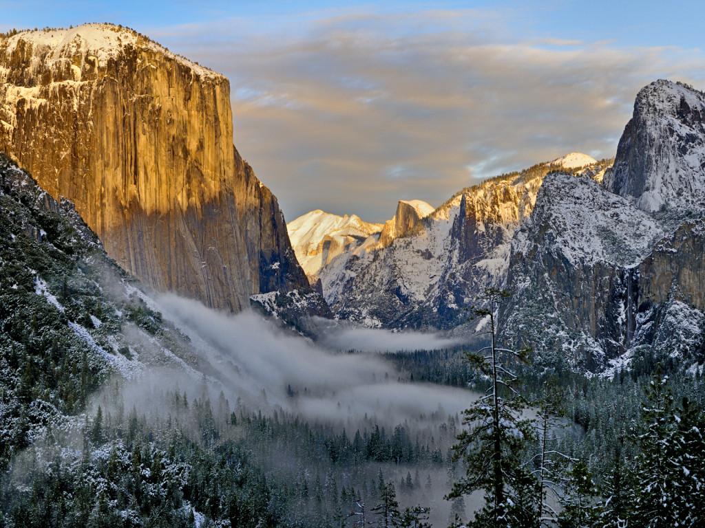 Séjour sur Yosemite : Saison hivernale